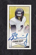 Stedman Bailey 2013 Bowman Mini Autographs #52BSB St. Louis Rams RC Signature