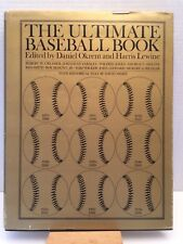 The Ultimate Baseball Book Edited By Daniel Okrent And Harris Lewine ( 1979 HC )
