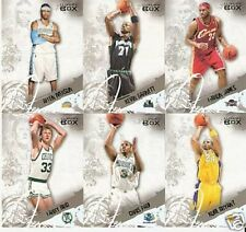 06-07 TOPPS LUXURY BOX COMPLETE SET CARDS 1-50
