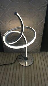 LED Metallic body coffee table lamp [MF92033-2]