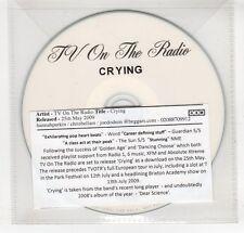 (GO59) TV On The Radio, Crying - 2009 DJ CD