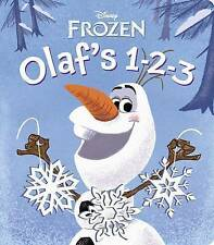 Frozen: Olaf's 1-2-3 (Glitter Board Book), Rh Disney, New condition, Book