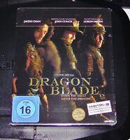Dragon Blade Con Jackie Chan / John Cusack steelbook Edición blu ray Nuevo & Ovp