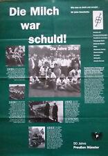 Preußen Münster - Plakat