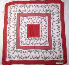 Joli Foulard  BALENCIAGA Paris 100% soie   TBEG  vintage scarf  80 x 80 cm