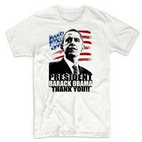 President Barack Obama thank you t-shirt, USA, election, American flag tee