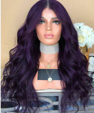 Womens Long Curly Wavy Hair Wigs Ladies Blonde Ombre Brown Straight Cosplay Wig