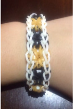 Rainbow Loom Rubber Band Bracelets - Starburst Design