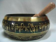 Mode Tibet bouddhisme Yoga méditation cuivre bol chantant + bâton