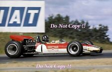 Graham Hill Gold Leaf Team Lotus 49B Canadian Grand Prix 1969 Photograph 1