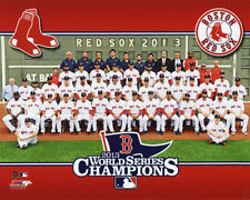 2013 BOSTON RED SOX WORLD SERIES CHAMPIONS LICENSED 8X10 TEAM PHOTO FREE SHIP