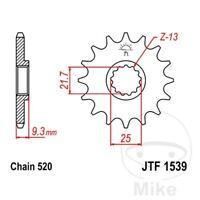 JT Motorrad Ritzel 9 Zähne Teilung 420 JTF562.09