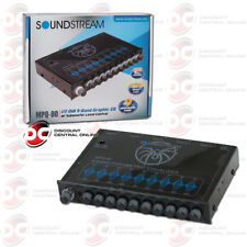 New Soundstream 9-Band Eq Equalizer Built-In Pre Amp + Subwoofer Control