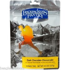 Backpacker's Pantry Dark Chocolate Cheese Cake Freeze Dried Camping Food