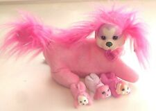 """2015 Puppy Surprise by Just Play ~ PINK DOG ~ 12"""" Plush Toy - (WX09)"""