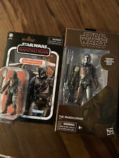 The Mandalorian black series carbonized vintage collection lot
