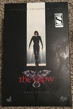 The Crow Eric Draven figure EMPTY BOX Sideshow exclusive version Hot Toys