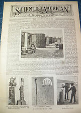 SCIENTIFIC AMERICAN MAG SUPPLEMENT FEB 24, 1894  FIREWORKS MANUFACTURE