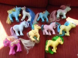 My Little Pony vintage G1 bundle x10 Hasbro