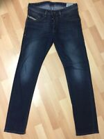 Men Diesel BELTHER STRETCH DENIM 0814W DARK BLUE TAPERED W29 L32 H7 RRP£150