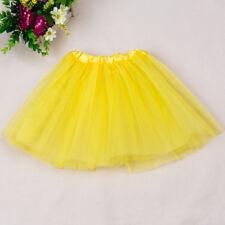 Children Girls Tutu Skirt Pettiskirt Mesh Half-Length Dance Skirt Costumes Kids