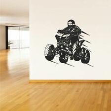 Wall Vinyl Sticker Bedroom Decal Quad Chopper Moto Motorcycle ATV (Z1610)