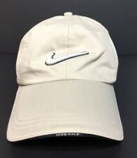 Tan Nike Golf THE JAKE  Baseball Cap/Hat Adjustable