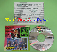 CD GREATEST HITS OF THE 60'S VOL.2 compilation STATUS QUO PETULA CLARK BECK(C20)