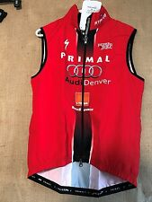 """6207 NWT Primal Cycling jersey men's M full front zipper """"Stages Cycling"""" graphi"""
