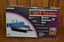 NIB Uniflame Bright Blue Portable Outdoor Electric 1600 Watt Barbeque Grill