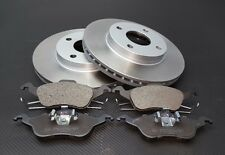 FORD FOCUS MK1 1.4 1.6 1.8 2.0 1998-2004 FRONT 2 BRAKE DISCS AND PADS