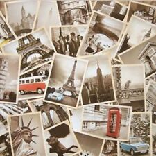 32pcs/lot Vintage Retro Posters Old Travel Postcards Wall Decoration Cards Set
