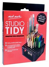 Mont Marte Studio Tidy Paint Brush Pencils Organizer Holder Art Table Organize