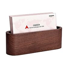 Business Card Holder Desk Wood Ebay