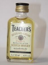 Teachers Highland Whisky 50 ml 43 % mini flaschen bottle miniature bottela