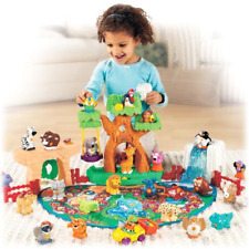 Little People A to Z Learning Zoo Playset Alphabet Trail with 26 Animals Figures