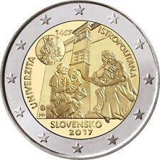 Slovakia 2 Euro 2017 commemorative coin - Academia Istropolitana - UNC