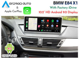 "BMW E84 X1 CIC iDrive - 10.2"" Android 9.0 Display + CarPlay & Android Auto"