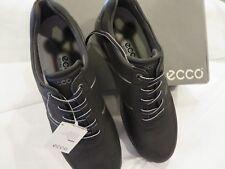 ECCO Men's Base One Golf Shoe Black 44 EU 10-10.5 US NIB
