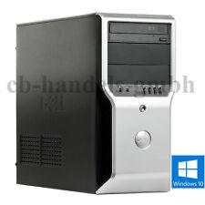 DELL PRECISION T1500 INTEL 4-CORE 2.8GHZ 8GB RAM 500GB NVIDIA QUADRO FX580 WIN10
