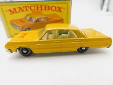 Matchbox series 20 * Chevrolet Impala taxi * embalaje original * 1968