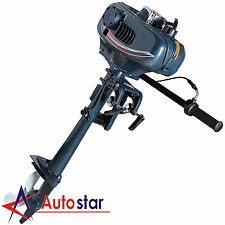 2 Stroke 3.5HP Heavy Duty Outboard Motor Boat Engine With Water Cooling System