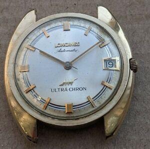 Vintage Longines Gold Filled Ultra Chron, Good Running Order!