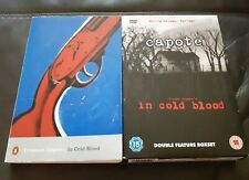 In Cold Blood by Truman Capote bundle. Book & 2 x DVD