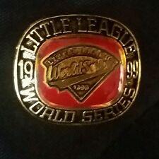 LITTLE LEAGUE PIN: 1999 LITTLE LEAGUE WORLD SERIES RING PIN