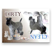 Kerry Blue Terrier Clean / Dirty Dishwasher Magnet Dog