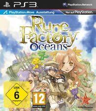 PS3 / Sony Playstation 3 - Rune Factory: Oceans / Tides of Destiny DE/EN mit OVP