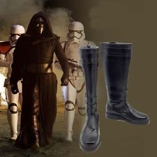 Star Wars 7 The Force Awakens Kylo Ren Cosplay Shoes Boots for Man