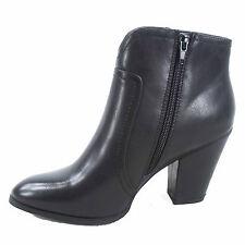 Women's Fashion Chunky Heel Almond toe Western Cowboy Ankle Booties 5-10 NEW