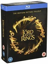 The Lord of The Rings Trilogy Blu-ray 2015 Region DVD 505189218182